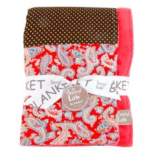 Chocolate Kiss Receiving Blanket