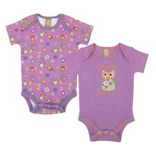 <strong>Trend Lab</strong> Jelly Bean Bodysuit (Set of 2)