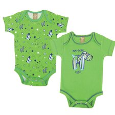<strong>Trend Lab</strong> Apple Berry Bodysuit (Set of 2)