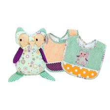 <strong>Trend Lab</strong> Jelly Bean Bib and Buddy Set