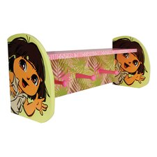 Nickelodeon Dora the Explorer Shelf with Pegs