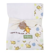 <strong>Trend Lab</strong> Dr. Seuss Lorax Framed Receiving Blanket