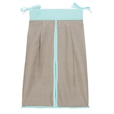 <strong>Trend Lab</strong> Cocoa Mint Diaper Stacker