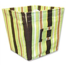 <strong>Trend Lab</strong> Giggles Medium Fabric Storage Bin in Stripe