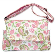 <strong>Trend Lab</strong> Paisley Park Messenger Diaper Bag