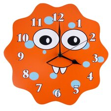 <strong>Trend Lab</strong> Snuggle Monster  Wall Clock