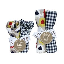 Elephant Parade Bouquet Set with Bibs and Burp Cloths
