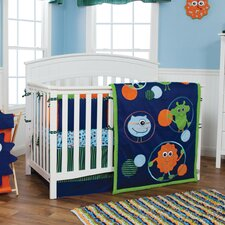 Snuggle Monster Crib Bedding Collection