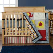 <strong>Trend Lab</strong> Elephant Parade Crib Bedding Collection