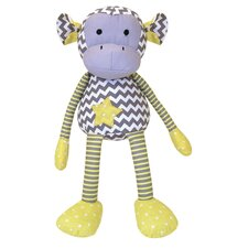 <strong>Trend Lab</strong> Hello Sunshine Monkey Stuffed Toy