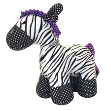 Grape Expectations Zebra Stuffed Toy