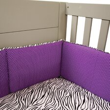 Grape Expectations 4 Piece Crib Bumper Set
