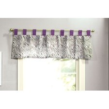 <strong>Trend Lab</strong> Grape Expectations Cotton Tap Top Curtain Valance