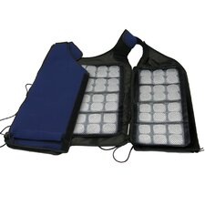 Re-Freezable Ice Vest with Removable Panels in Navy