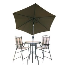 Elite Marrakesh 4 Piece Bar Dining Set
