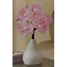 """15"""" H LED Orchid Table Lamp"""