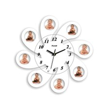 "18.11"" Picture Frame Wall Clock"
