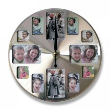 "11.81"" Picture Frame Wall Clock"