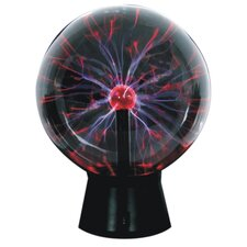 "12"" Plasma Ball Table Lamp"