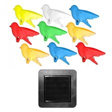 Color Birds String Solar Light