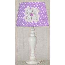 "13"" Flower Desk Lamp"