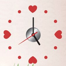 "Do It Yourself 11.81"" Heart Wall Clock"