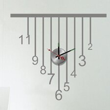Do It Yourself Vertical Wall Clock