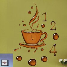 Do It Yourself Coffee Cup Wall Clock