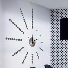 Do It Yourself Dots Wall Clock
