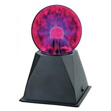 "9"" H Plasma Ball Table Lamp"