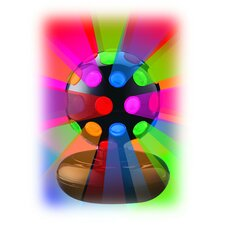 <strong>Creative Motion</strong> Rotating Disco Ball Light Table Lamp