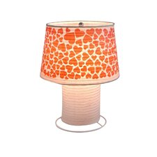 Heart Desk Paper Table Lamp