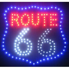 <strong>Creative Motion</strong> Route 66 LED Sign