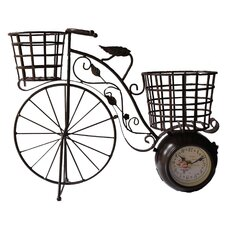 Tricycle Table Clock