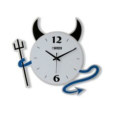 Devil Wall Clock