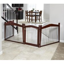 2-in-1 Configurable Pet Crate and Gate