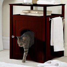 Nightstand Pet Crate End Table