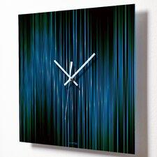 """15"""" Lineas Aqua Wall Clock"""