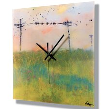 "15"" Amarillo Wall Clock"