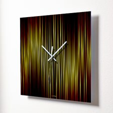 "<strong>HangTime Designs</strong> 15"" Lineas Fire Wall Clock"