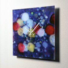 "<strong>HangTime Designs</strong> 15"" Rainy Night Wall Clock"
