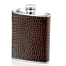 6 Oz. Alligator Flask