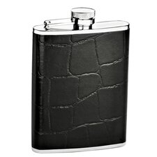 6 Oz. Crocodile Flask