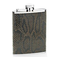 6 Oz. Dark Snake Flask