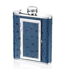 6 Oz. Ostrich Cigarette Flask