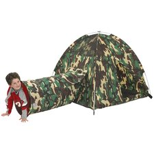Command HQ Play Tent and Tunnel Combination