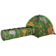 African Adventure Tent and Tunnel Set