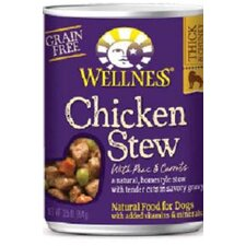 Chicken Stew with Peas and Carrots Wet Dog Food (13.2-oz, case of 12)