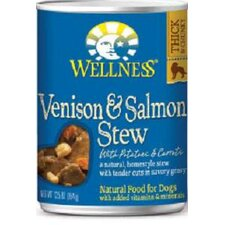 Venison and Salmon Stew with Potatoes and Carrots Wet Dog Food  (12.5-oz, case of 12)