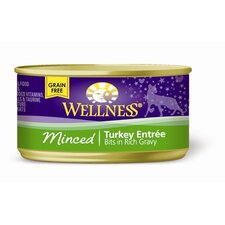 Minced Turkey Canned Cat Food (3-oz, case of 24)